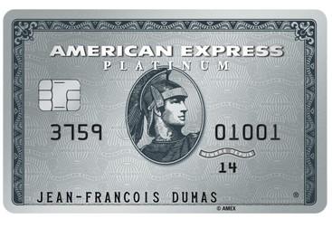 Carte de Platine American Express logo 1