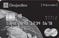 Desjardins Odyssee World Elite MasterCard