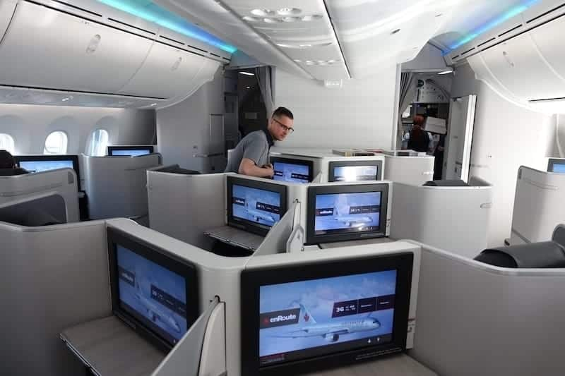 ac497 montreal toronto air canada boeing 787 35