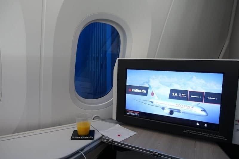 ac497 montreal toronto air canada boeing 787 40