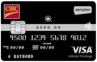 aero or cibc visa infinite privilege