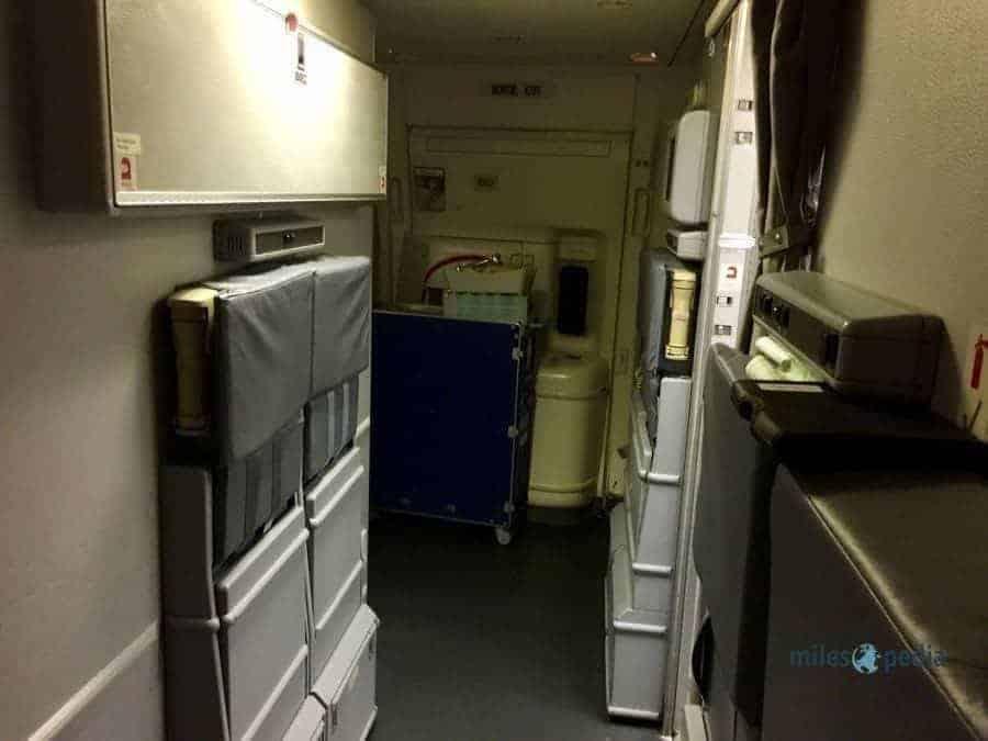 Espace de vie au fond de l'appareil - Air France AF347