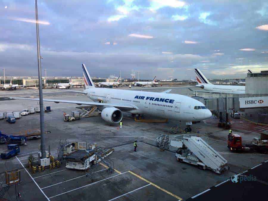 Ancienne livrée - Air France AF347