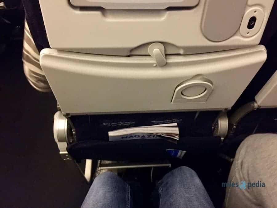 Espace aux jambes pour une personne d'1,78m - Air France AF347