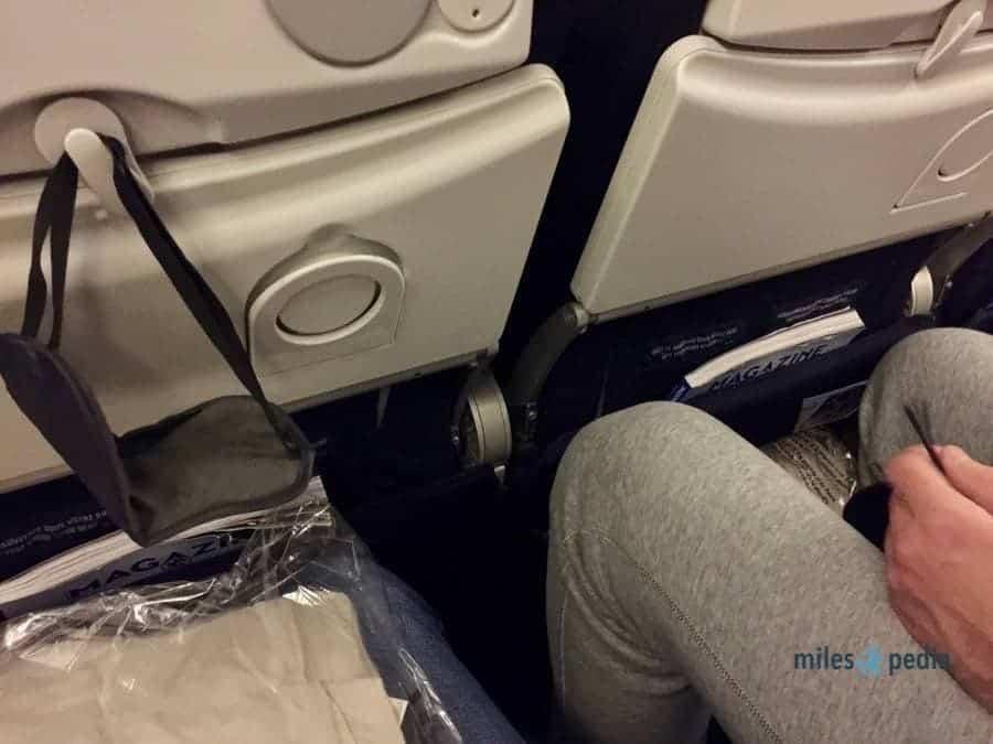 Espace aux jambes pour une personne d'1,88m. - Air France AF347