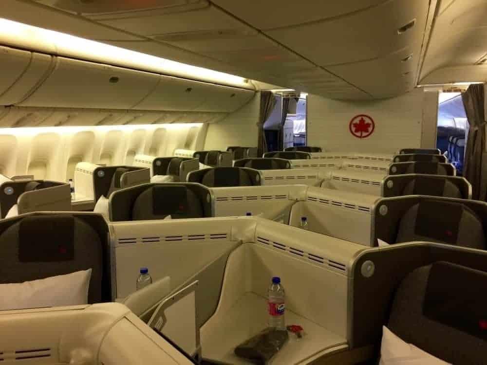 air canada affaires 777 cdg yul37