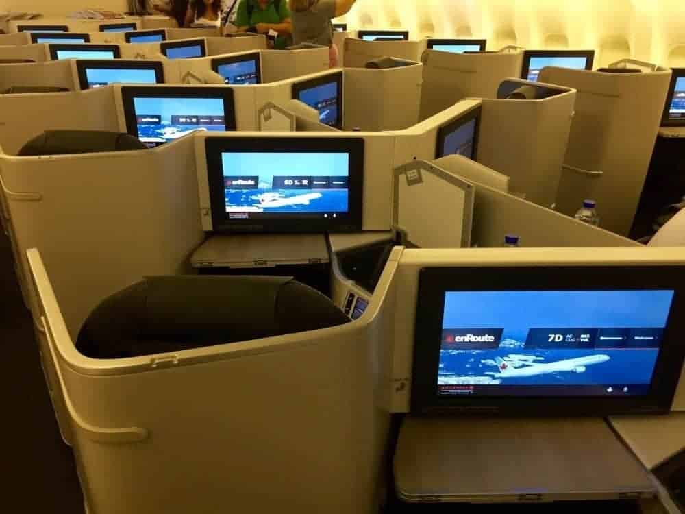 air canada affaires 777 cdg yul45
