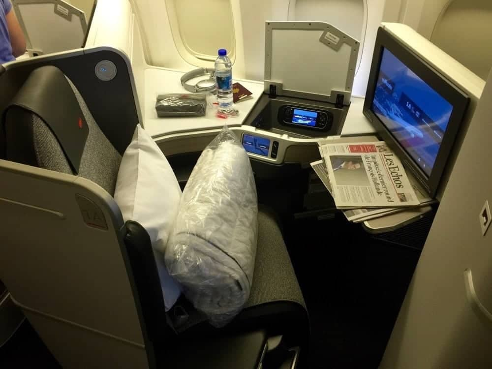 air canada affaires 777 cdg yul52