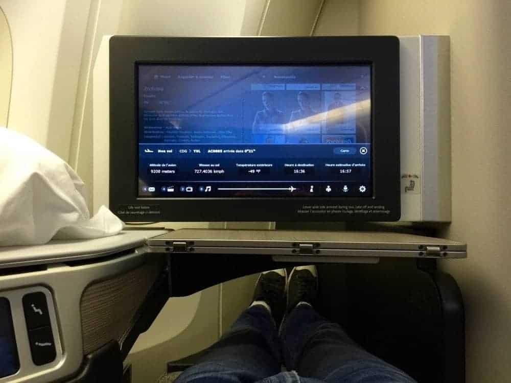 air canada affaires 777 cdg yul85
