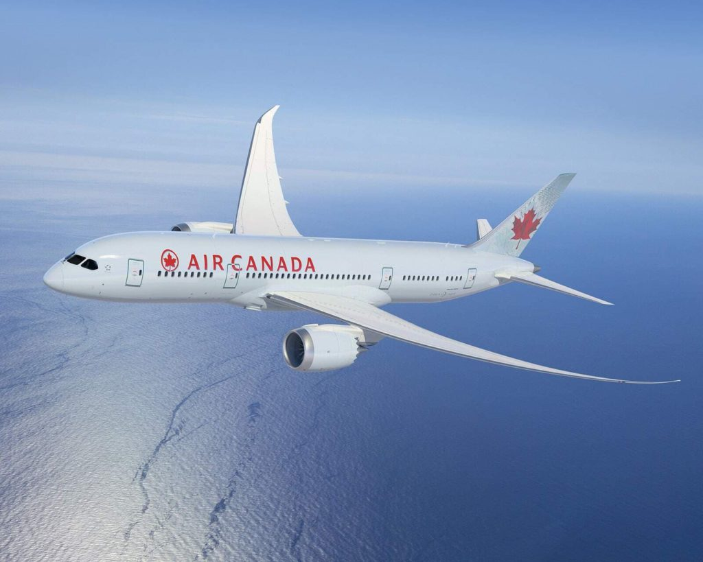 air canada air canada premiers new boeing 787 dreamliner cabin