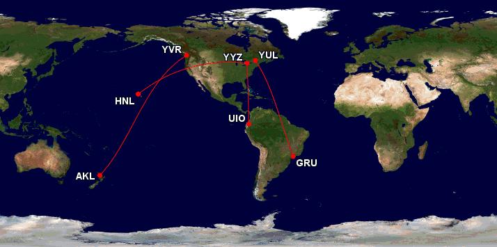 air canada lancement route 2019