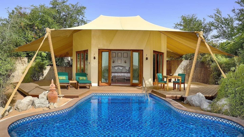 al maha bedoin suite piscine 2