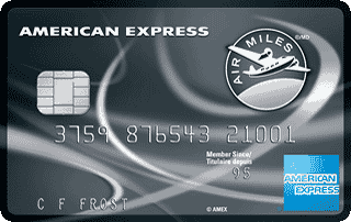 american express air miles reserve