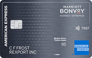 american express bonvoy business