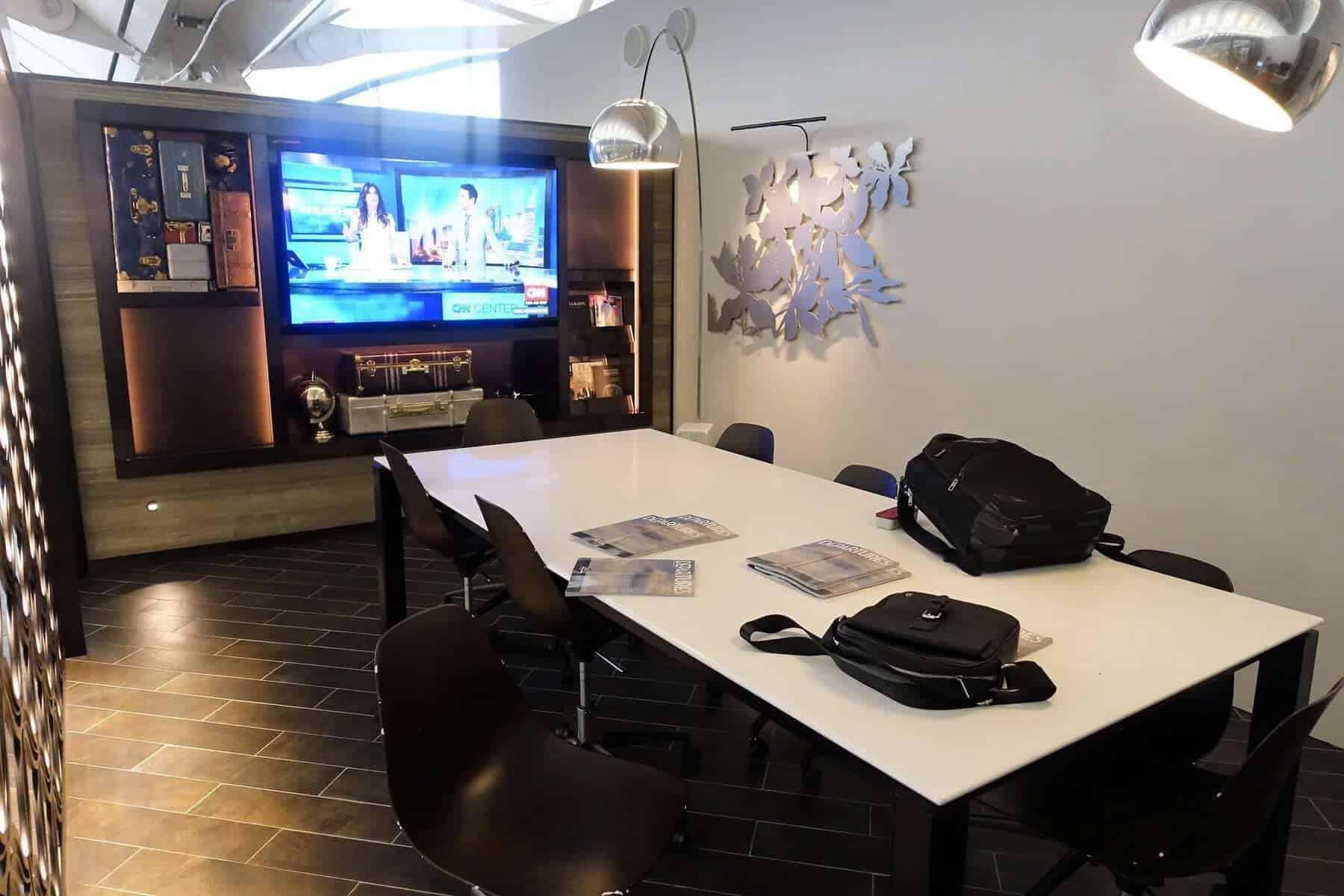 American Express Centurion Lounge Hong Kong