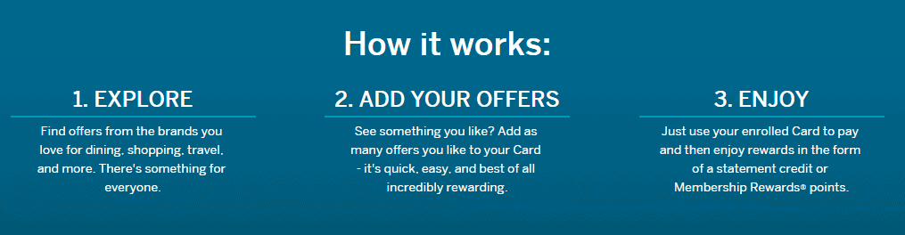 amex offers usa how to