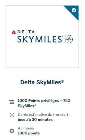 amex points privileges delta