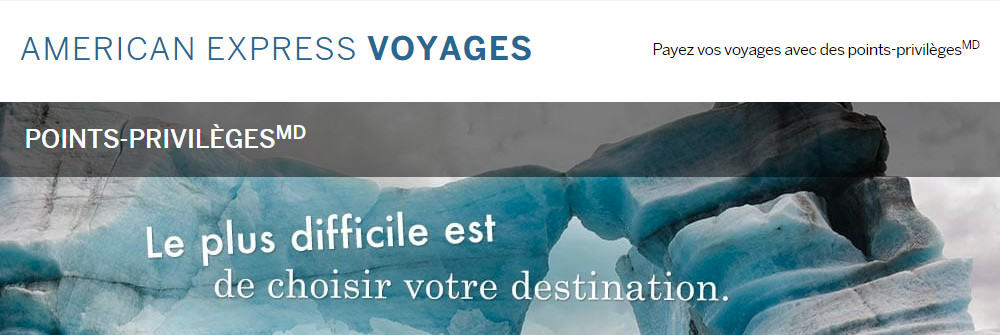 amex voyages points fixes 1