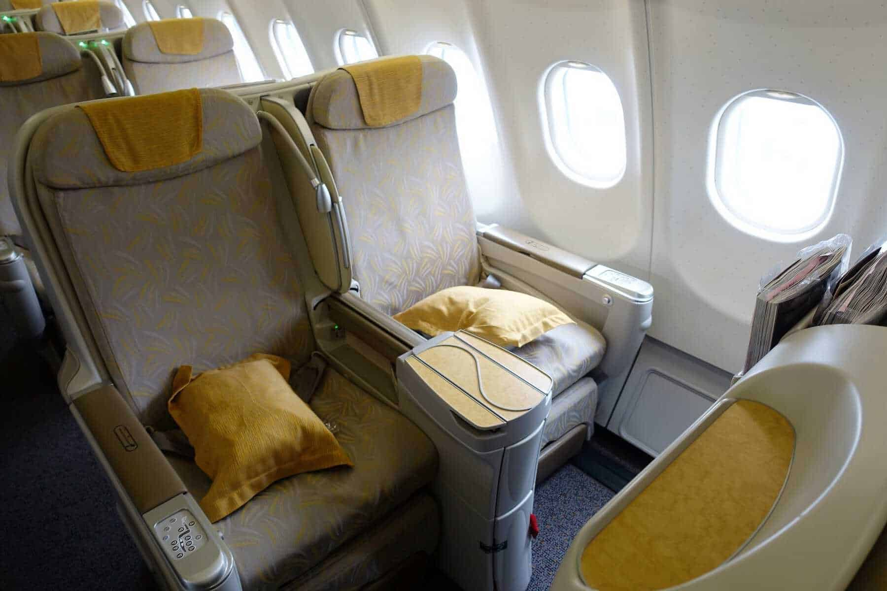 asiana airlines a330 business class sgn icn 12