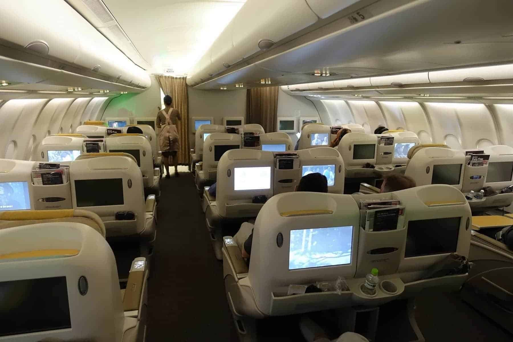 asiana airlines a330 business class sgn icn 56