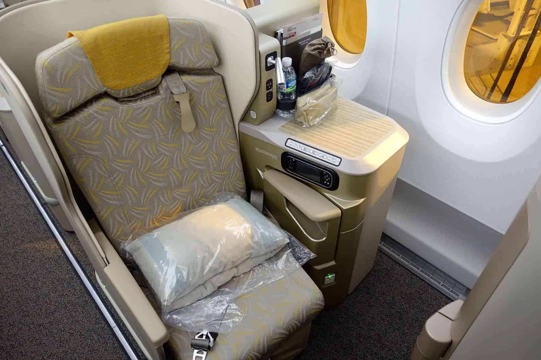 asiana airlines a350 business class icn sfo 16
