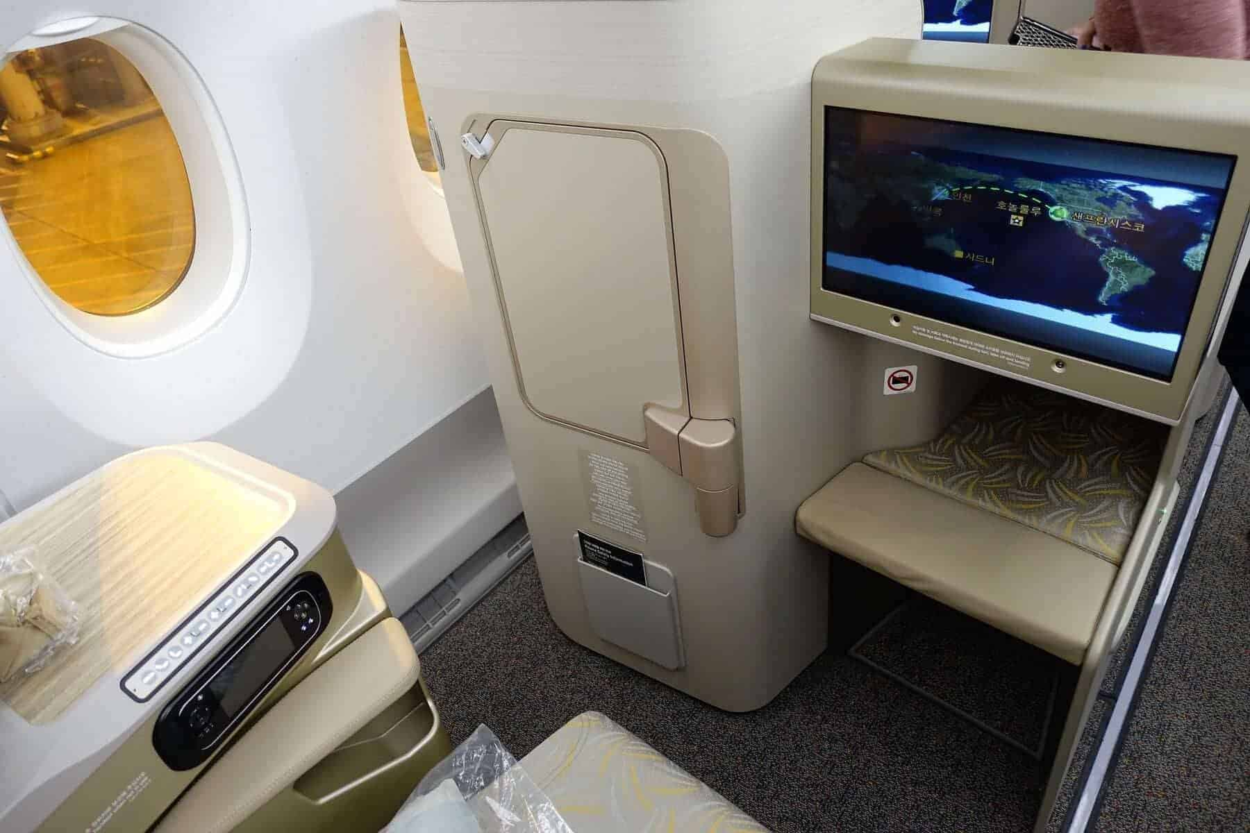 asiana airlines a350 business class icn sfo 17