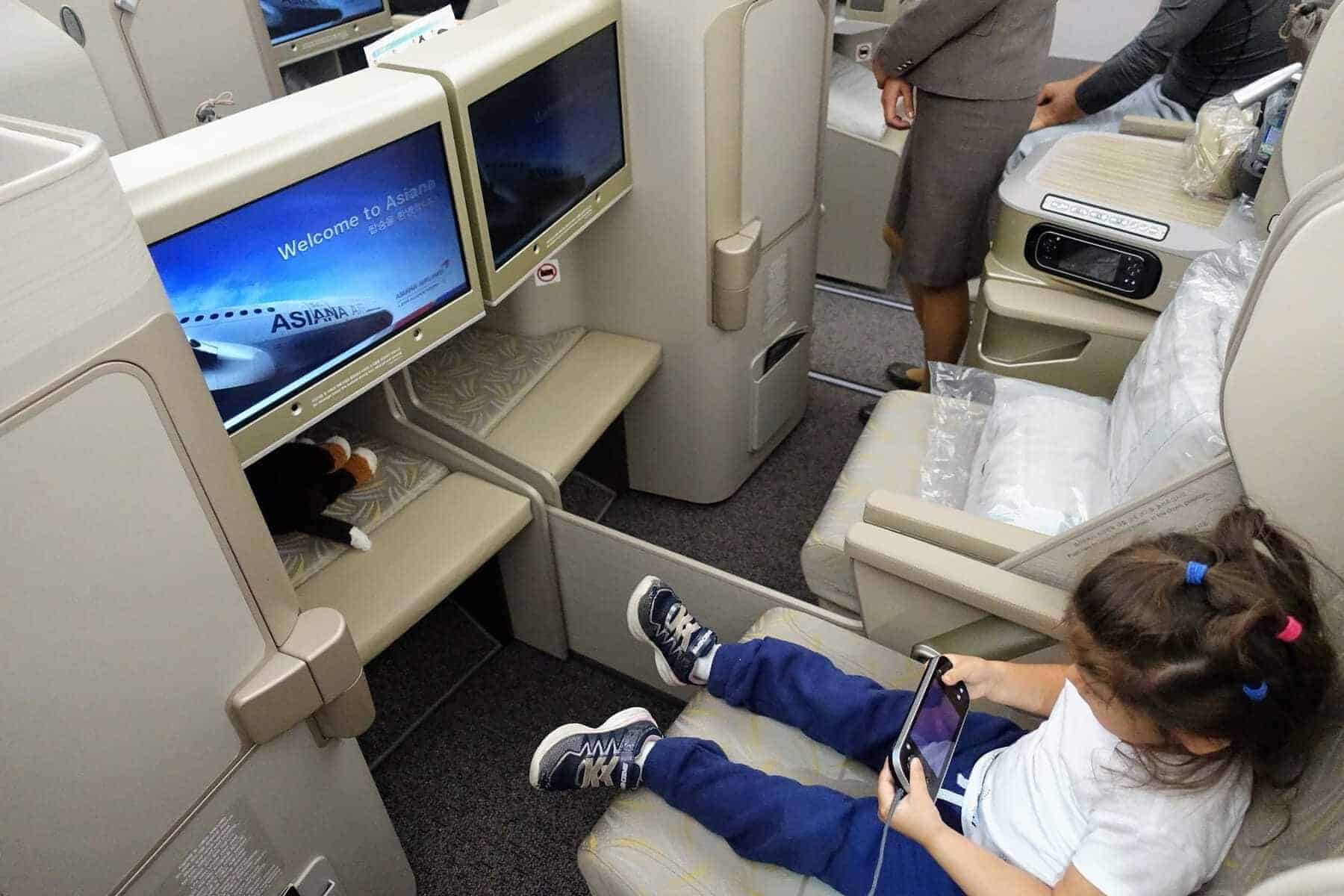 asiana airlines a350 business class icn sfo 18