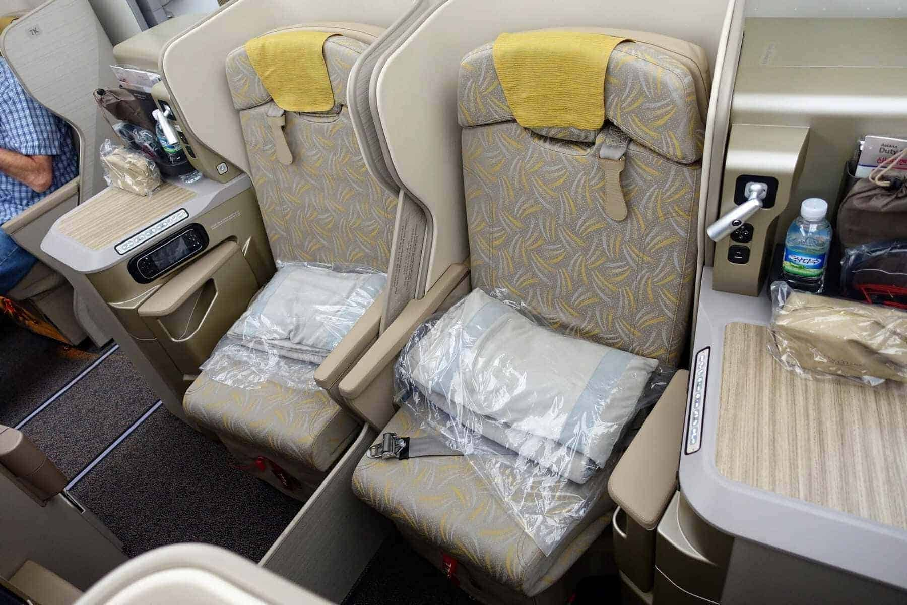asiana airlines a350 business class icn sfo 19