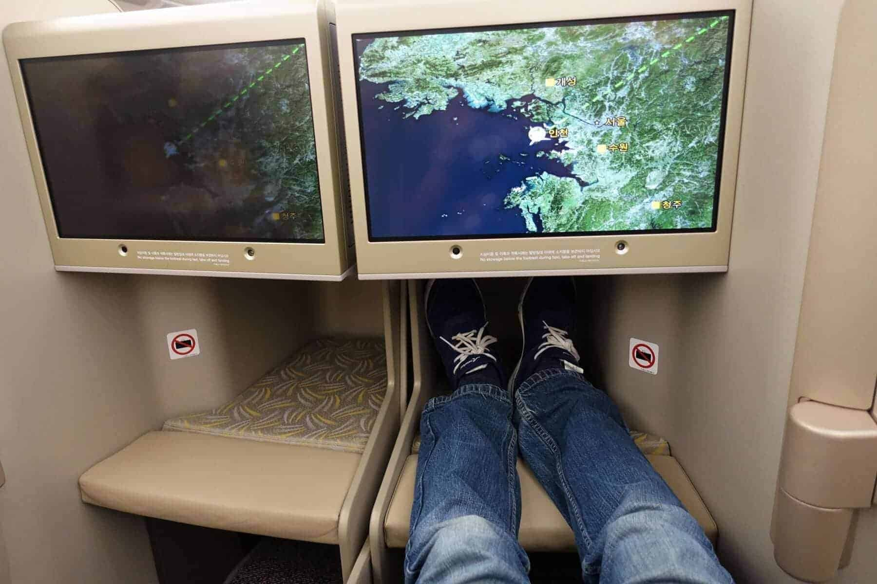 asiana airlines a350 business class icn sfo 23