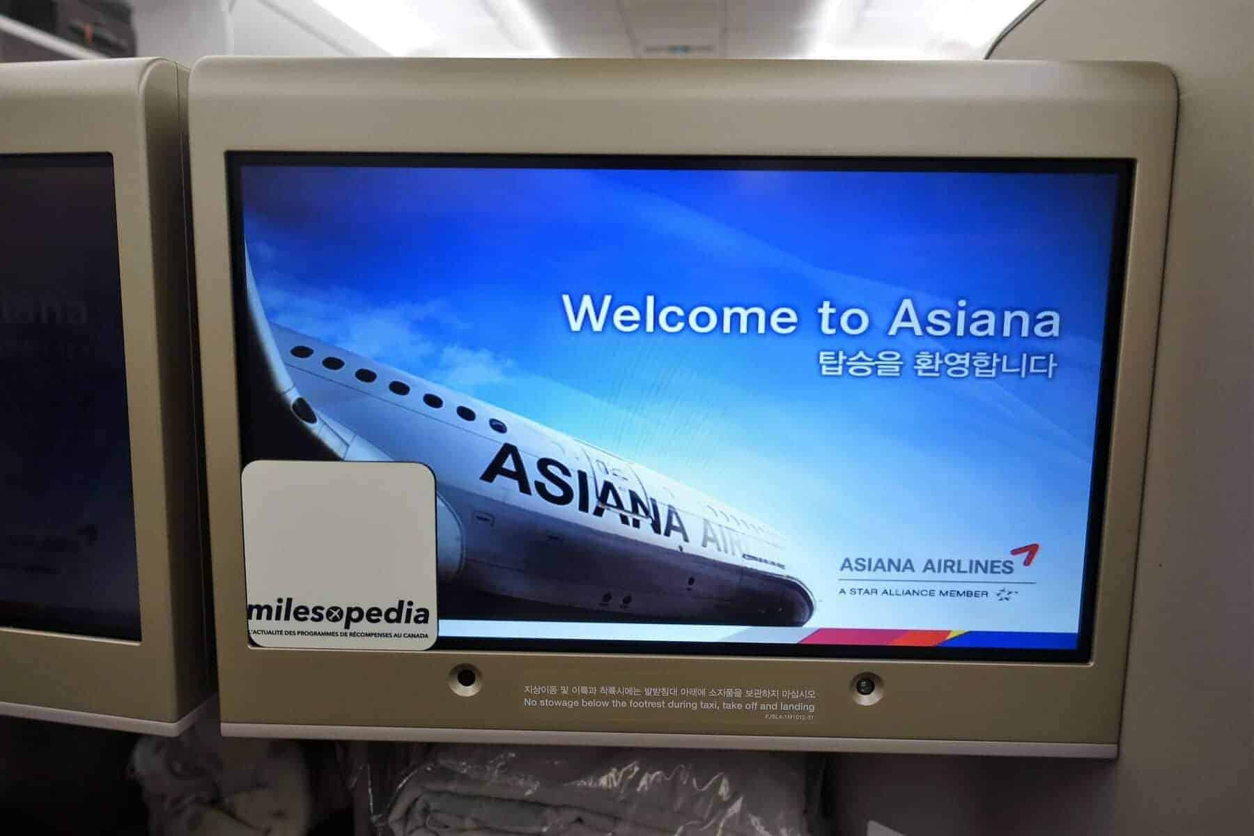 asiana airlines a350 business class icn sfo 31
