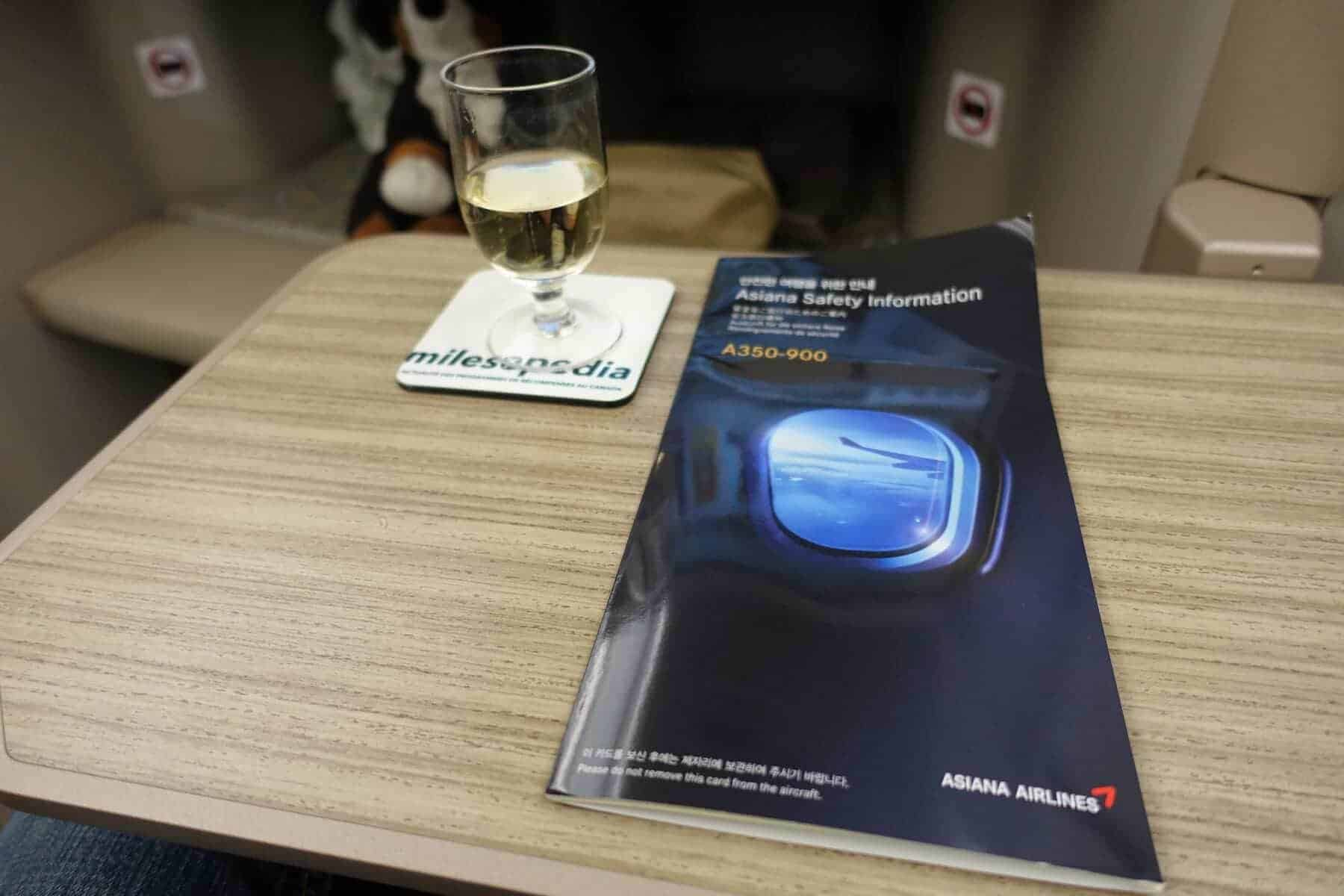 asiana airlines a350 business class icn sfo 43