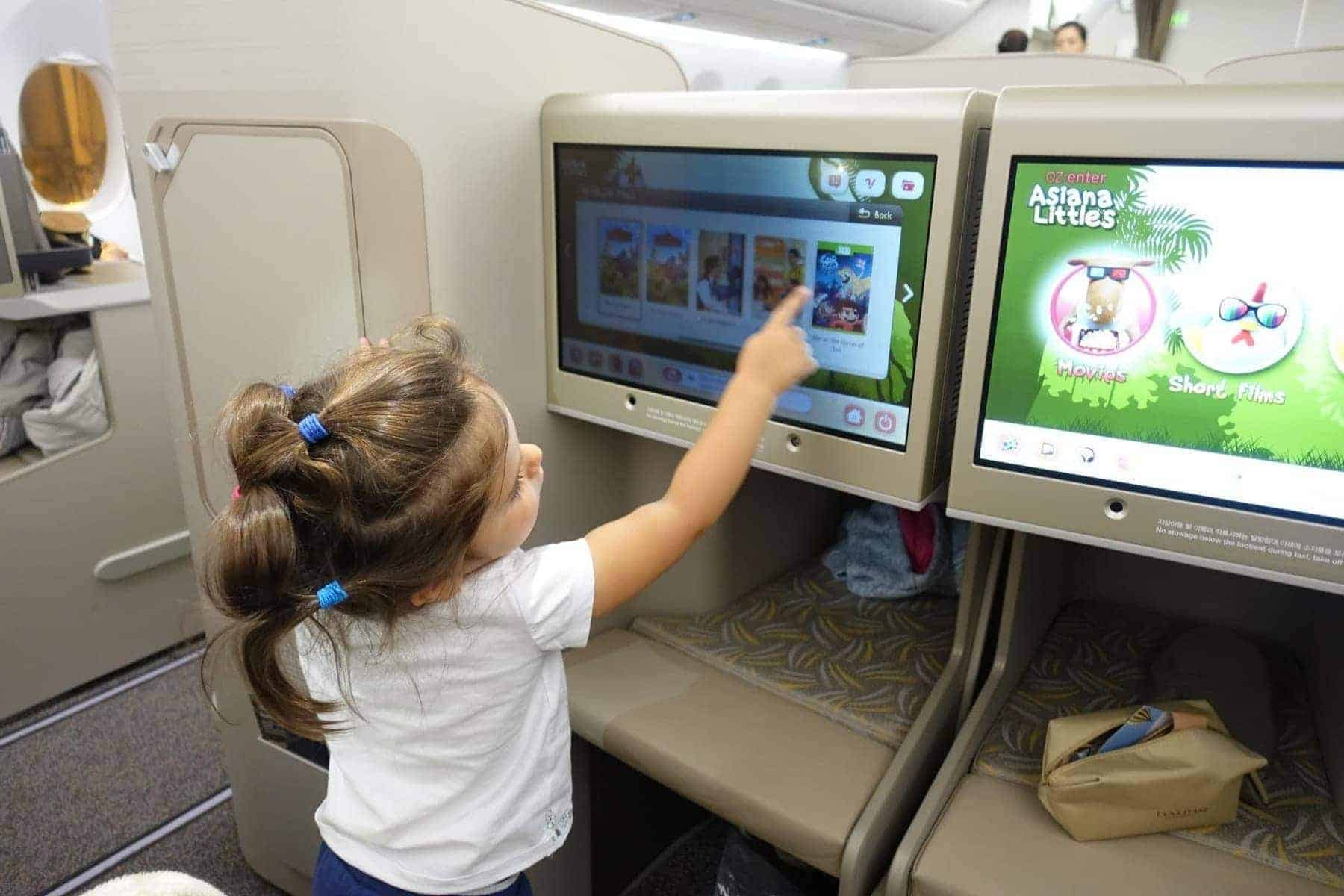 asiana airlines a350 business class icn sfo 46