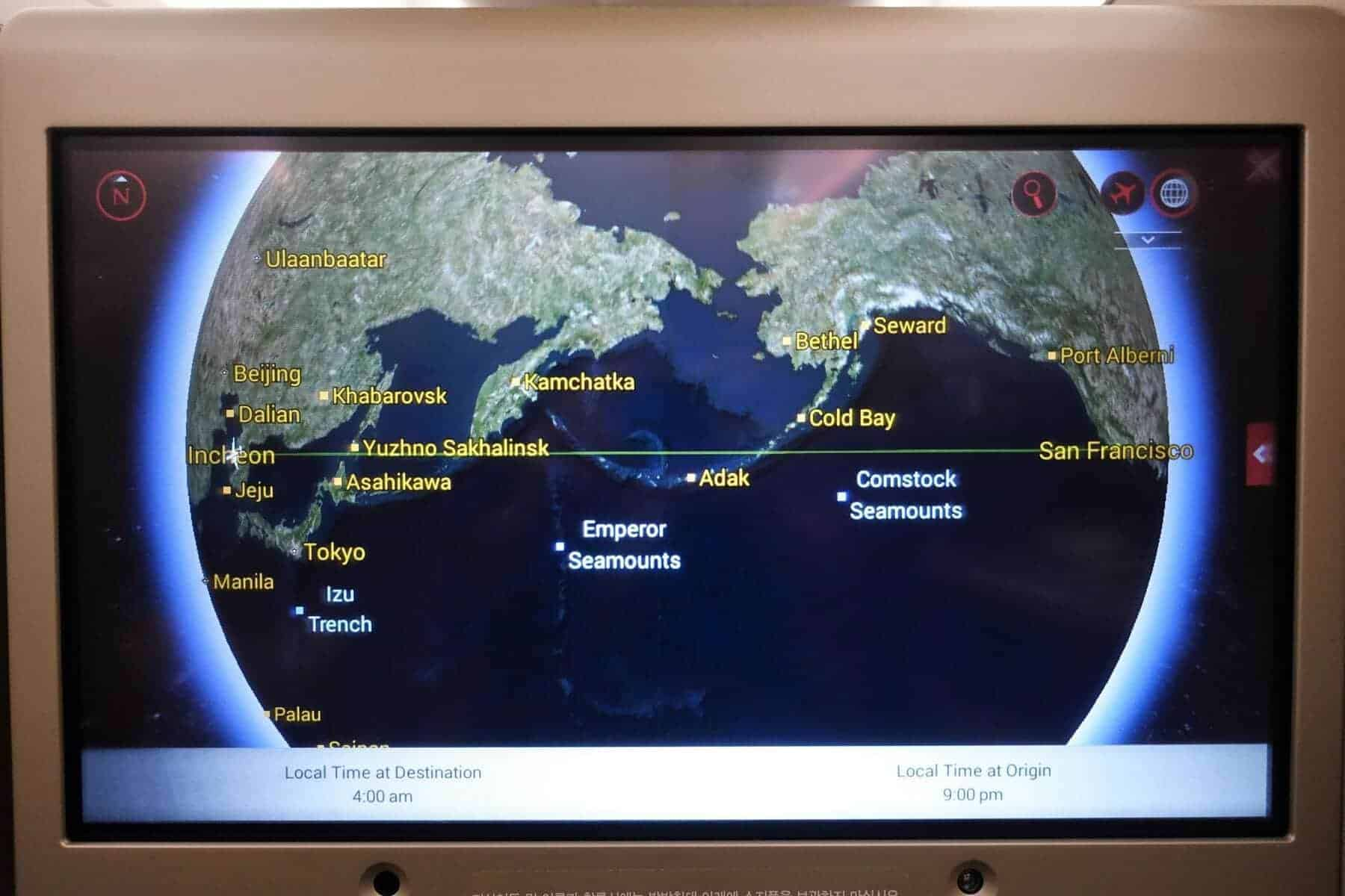 asiana airlines a350 business class icn sfo 48