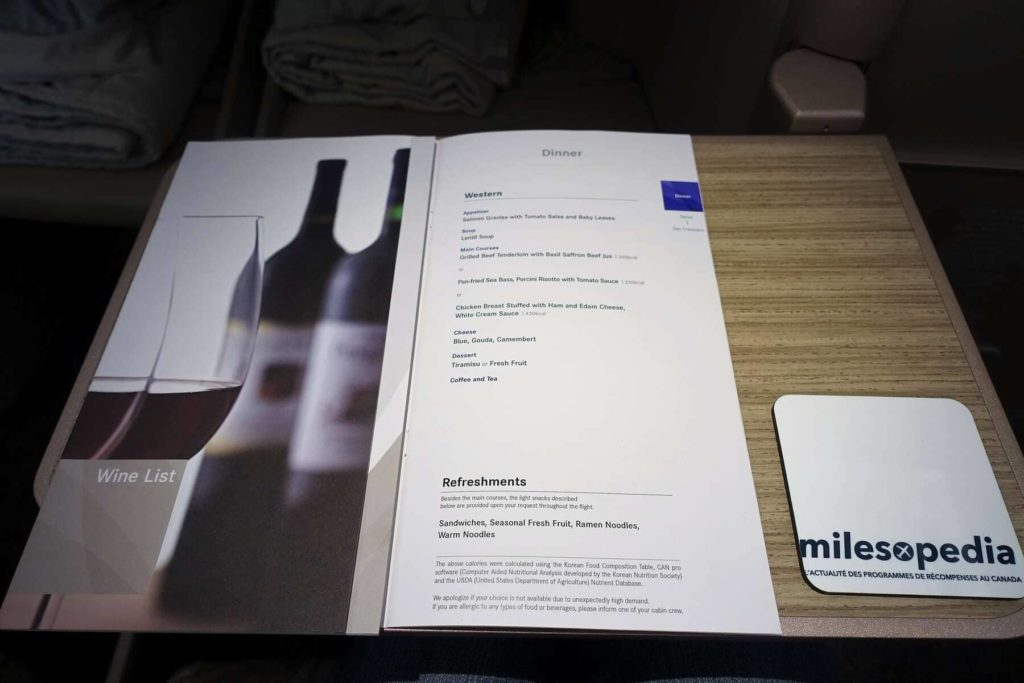 asiana airlines a350 business class icn sfo 50