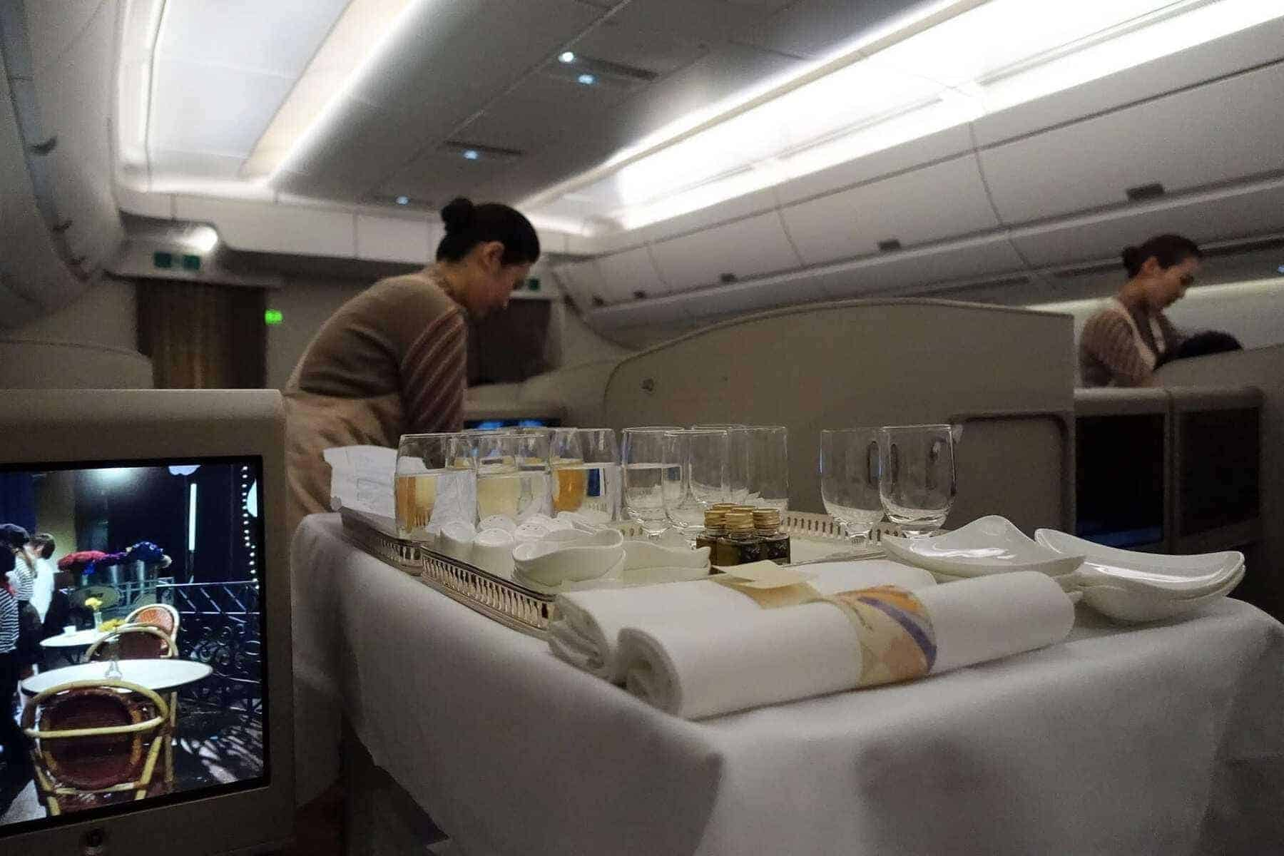 asiana airlines a350 business class icn sfo 56