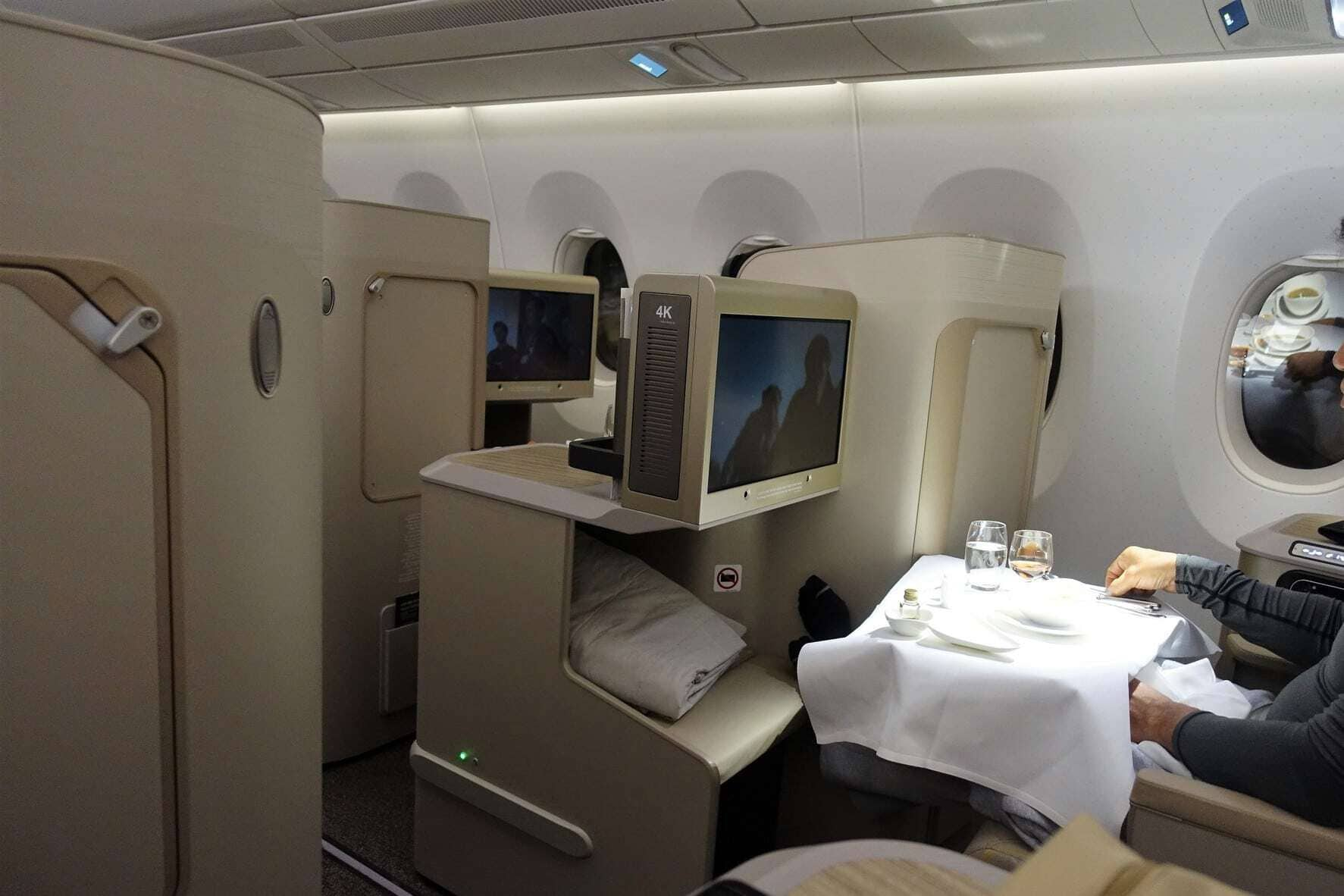 asiana airlines a350 business class icn sfo 61