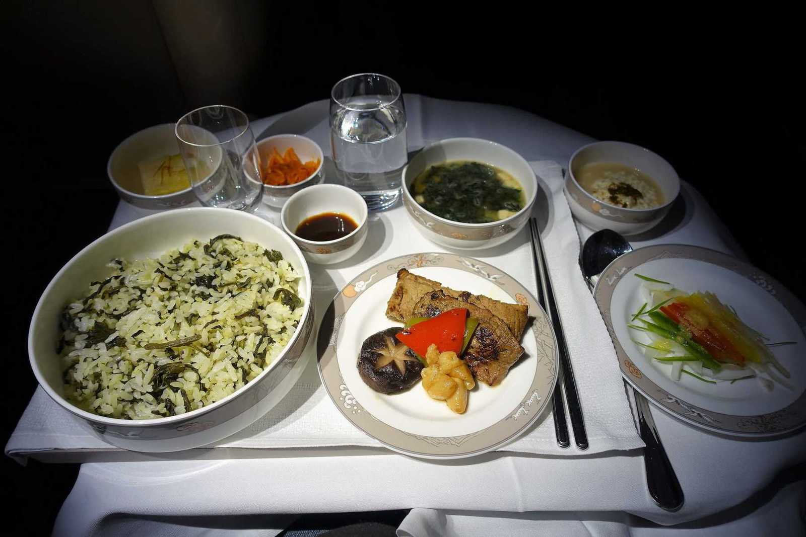 asiana airlines a350 business class icn sfo 64