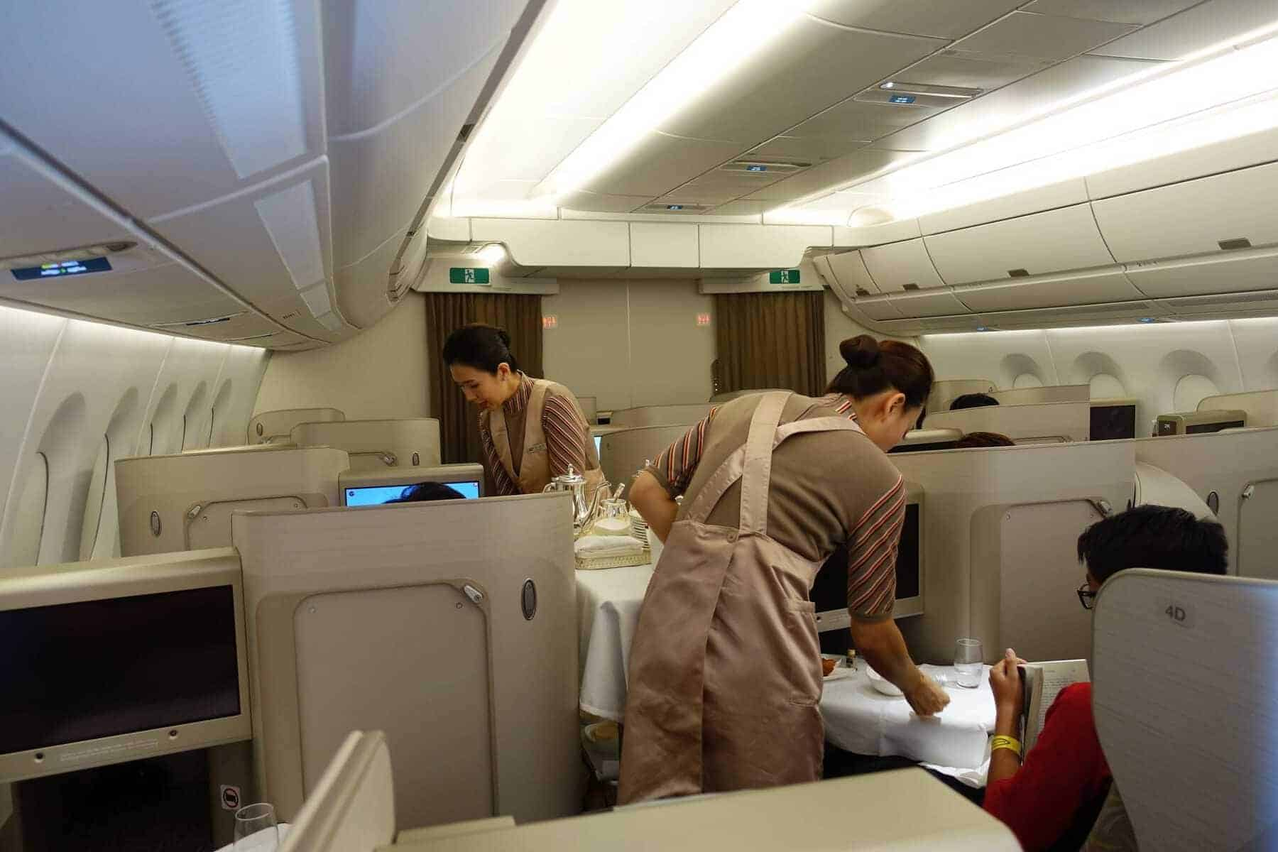 asiana airlines a350 business class icn sfo 69