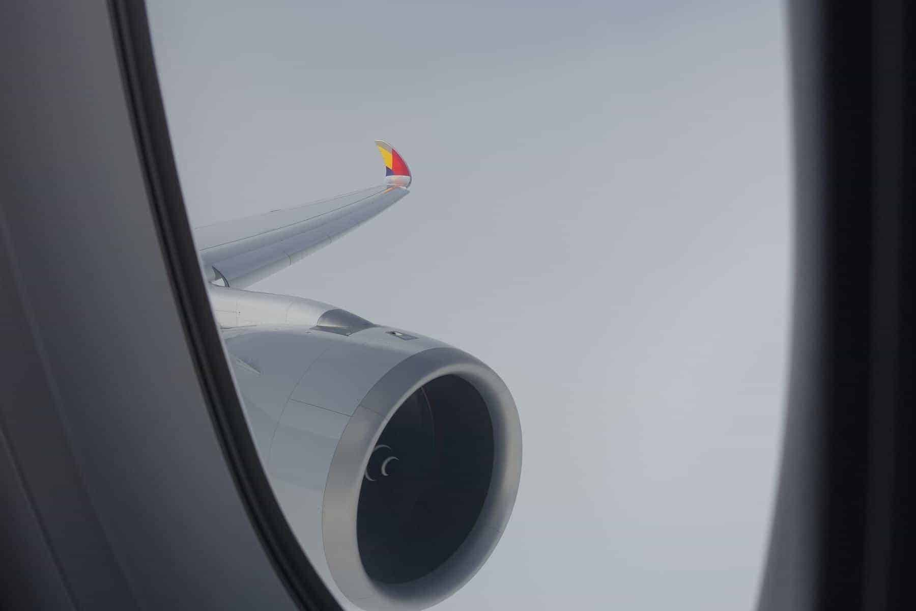 asiana airlines a350 business class icn sfo 73