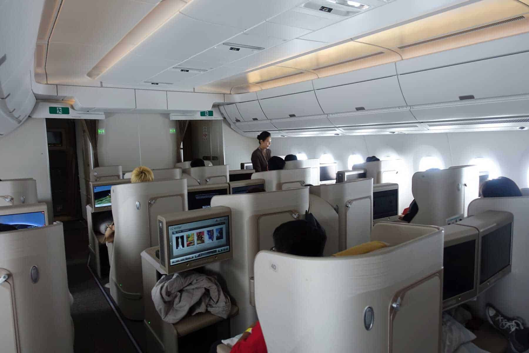 asiana airlines a350 business class icn sfo 75