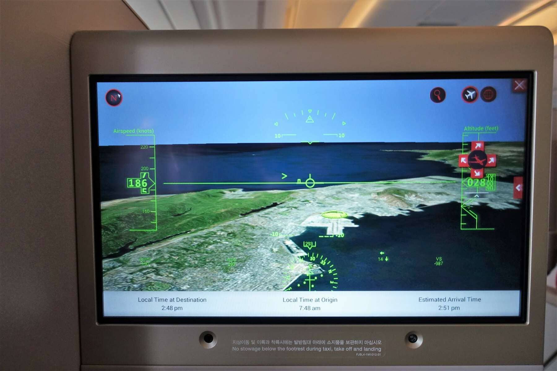 asiana airlines a350 business class icn sfo 76