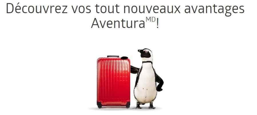 avantages aventura 2018