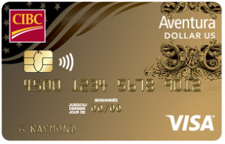 aventura or cibc visa dollars us