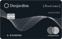 Desjardins Cash Back World Elite Mastercard
