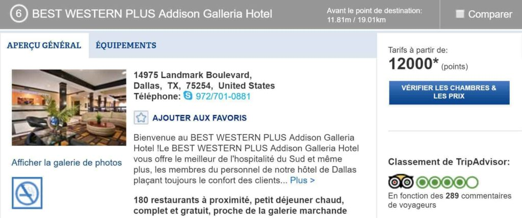 best western plus galleria 12k dallas