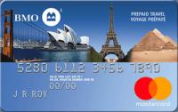 bmo prepaid travel credit mastercard fr