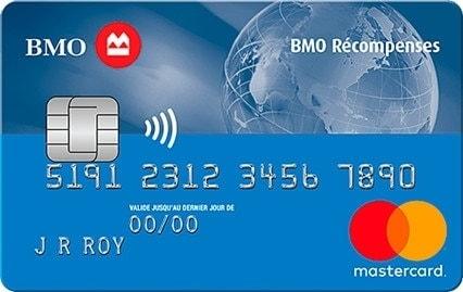 bmo rewards mastercard fr
