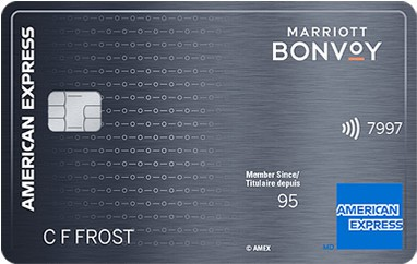 Carte Marriott Bonvoyᴹᴰ American Express