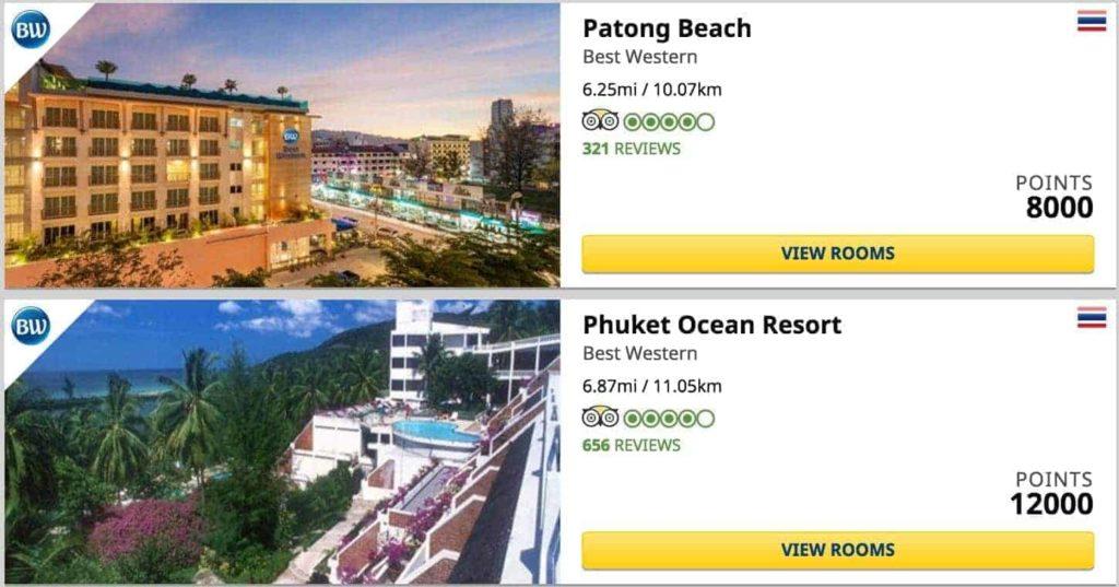 bw phuket