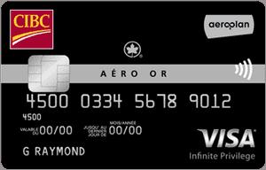 carte aero or cibc visa infinite privilege
